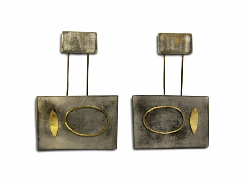 Judy McCaig Tiempo, 2014 Sterling silver, 18kt and 22kt gold