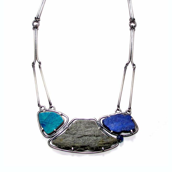 JG_Blue Rock Necklace
